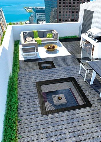 begehbare fenster f rs flachdach bauen renovieren. Black Bedroom Furniture Sets. Home Design Ideas