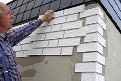 Klinkerfassade Streichen diy fassade in klinker optik bauen renovieren für heimwerker
