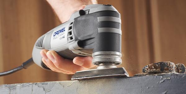 Dremel multi max jetzt auch mit kabel werkzeug technik - Couper le bas d une porte ...