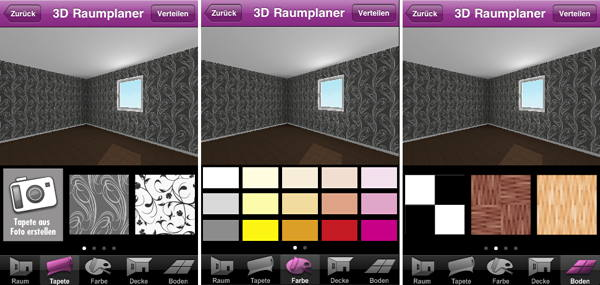 tapezier app von metylan szene news f r heimwerker. Black Bedroom Furniture Sets. Home Design Ideas