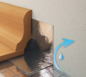 dichtband randfuge und feuchteschutz bauen renovieren. Black Bedroom Furniture Sets. Home Design Ideas