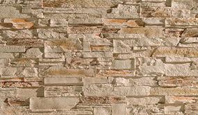 Rustikale steinoptik f r die wand bauen renovieren for Rustikale tapete