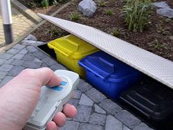 Mülltonnen? Unter die Erde!   Garten   News für Heimwerker