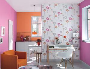raumwirkung ver ndern mit tapeten wohnen news f r heimwerker. Black Bedroom Furniture Sets. Home Design Ideas
