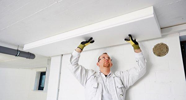 klebering erleichtert kellerdecken d mmung bauen renovieren news f r heimwerker. Black Bedroom Furniture Sets. Home Design Ideas