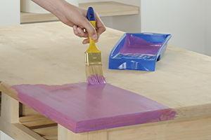anleitung esstisch farbig beizen und versiegeln diy info. Black Bedroom Furniture Sets. Home Design Ideas