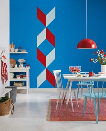 anleitung farbfl chen auf der wand anlegen und abkleben diy info. Black Bedroom Furniture Sets. Home Design Ideas