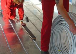 Fußbodenheizung Verlegen ~ Fußbodenheizung verlegen anleitung diybook at