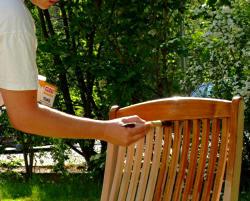 Anleitung: Gartenmöbel Aus Teak Auffrischen | Diy-info Gartenmobel Teakholz Teakol