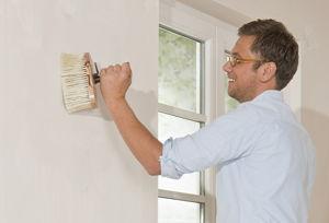 Anleitung w nde selbst anstreichen diy info for Wand zur halfte streichen