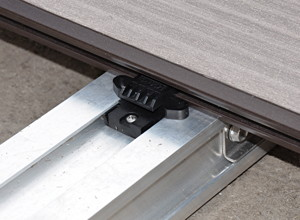 Favorit Aluminium-Unterbau für Terrassen | Garten | News für Heimwerker YB09
