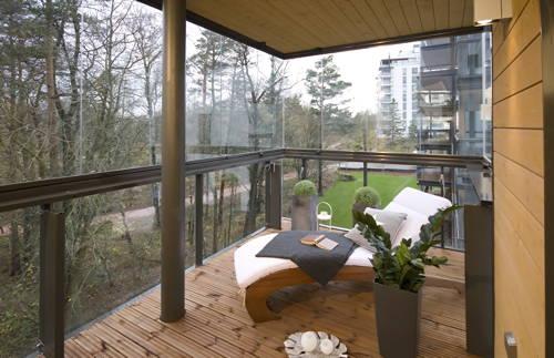 Bevorzugt Verglaste Balkone verlängern die Saison | Wohnen | News für Heimwerker WK36