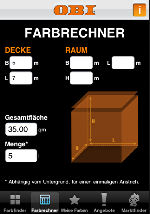 Obi Farbfinder Szene News Fur Heimwerker