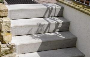 Häufig Außentreppe sanieren mit Marmorgranulat | Bauen & Renovieren RJ78