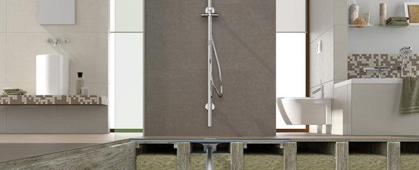 Sehr Bodengleiche Dusche auf Holzbalkendecke   Bauen & Renovieren KT42