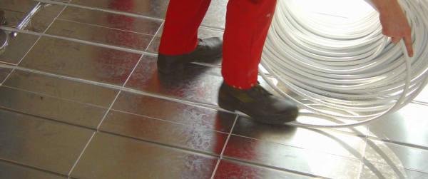 Sehr Anleitung: Fußbodenheizung selbst verlegen | DIY-Info ET84