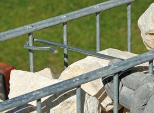 Extrem Anleitung: Zaun oder Sichtschutz mit Gabionen bauen   DIY-Info AU54