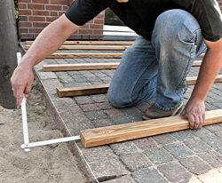 anleitung holz terrasse selbst bauen unterkonstruktion diy info. Black Bedroom Furniture Sets. Home Design Ideas