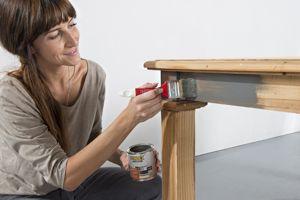 anleitung esstisch abbeizen und mit lacklasur neu streichen diy info. Black Bedroom Furniture Sets. Home Design Ideas