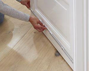 Gut bekannt Anleitung: Zimmertür gegen Kälte und Zug abdichten | DIY-Info DH92